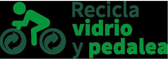Recicla vidrio y pedalea